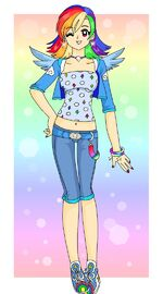 Mlp rainbow dash by sailor serenity-d4hreuc