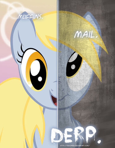File:Mlp two sides of derpy by tehjadeh-d4hypcr.jpg