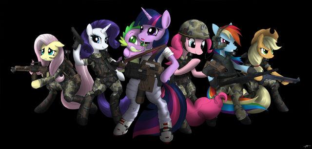 File:Changelings colonial ponies.jpg