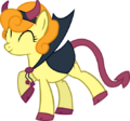 Carrot Top devil costume in Nightmare Night by artist-quanno3.png