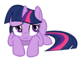 Twilight Sparkle worried by artist-names-tailz