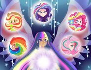 Rainbow Power by kilala97