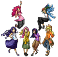 Mane6 Humanized by UnregisteredWaffle.png