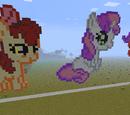 Ponies in Minecraft