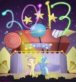 Happy New Year - 2013 by MikorutheHedgehog