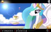 Princess Celestia wallpaper by artist-ringodaifuku