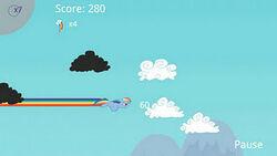 Rainbow Cloud Attack screenshot