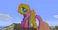 FANMADE Minecraft Fluttershy in progress 2.png