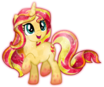 Rainbow Power Crystal Sunset Shimmer by TheShadowStone