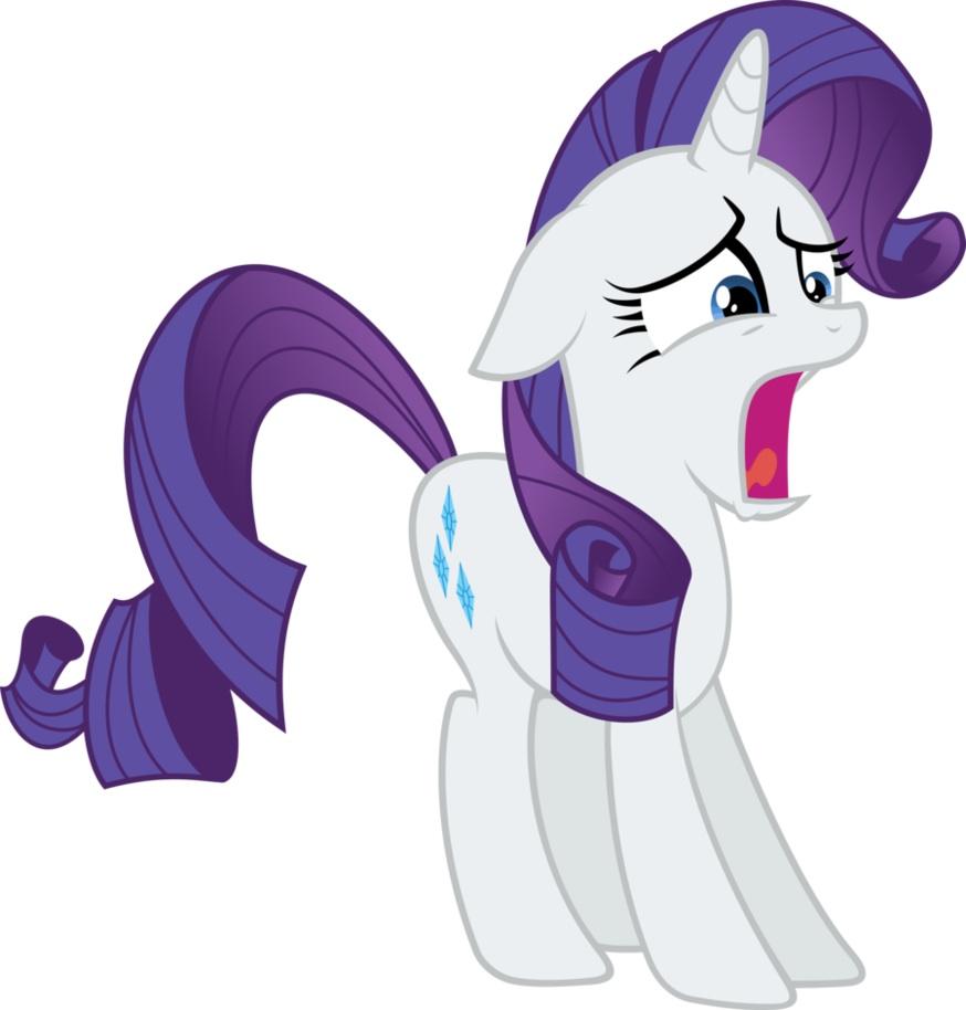 Image - Rarity Scream.jpg | My Little Pony Fan Labor Wiki ...