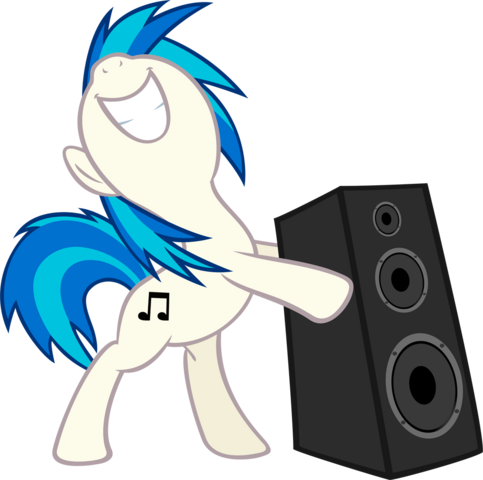 File:Vinyl Scratch bass cannon by EyeofMagnus.png