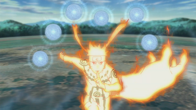 File:Naruto nine tails mode.png