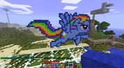 FANMADE Rainbow Dash Minecraft