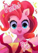 Pinkie Pie by suikuro