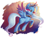 Alicorn Amulet Trixie by artist-adlynh
