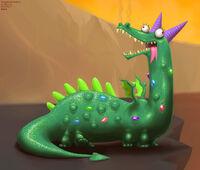 Crackle is best dragon by DrJavi