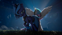 Standing tall against the darkness by indexpony