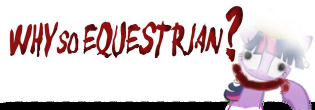 EqD Halloween Banner - WhySoEquestrian