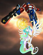 Celestia heeds the call of the last prime by ironraptor-d5jzmby