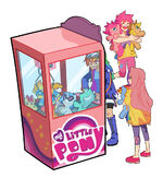 My Little Pony Claw Game by sapphire1010