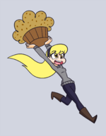 Run Away Muffin by Khuzang
