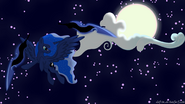 Princess Luna wallpaper by artist-dotrim