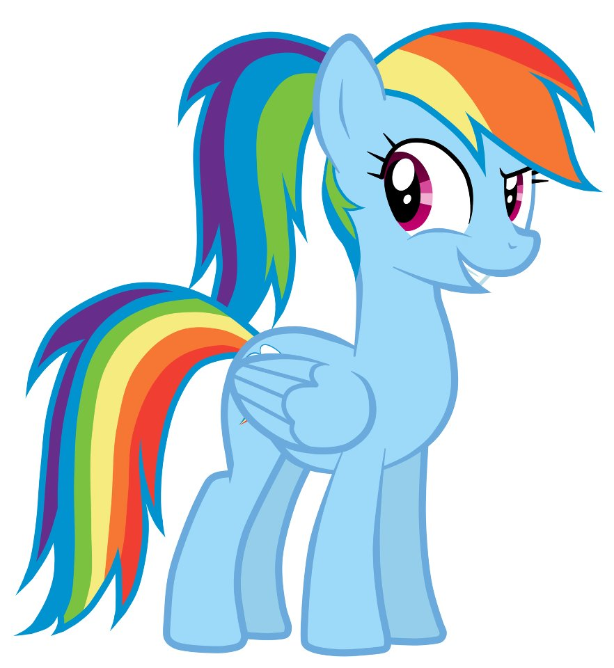Image Rainbow Dashs New Hairstylejpg My Little Pony
