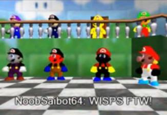 Screenshot wisps