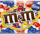 Red, White, and Blue M&M's
