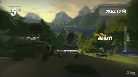 E3 2009 Mod Nation Racers Live Demo, Part 1
