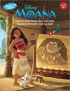Learn to draw Moana, Maui, and other favorite characters step by step!