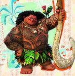 Maui and Hei Hei Icon