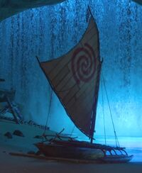 Moana; Moana's Sailboat