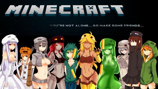 File:Minecraft - Mob Talker Desktop Wallpaper HD.jpg