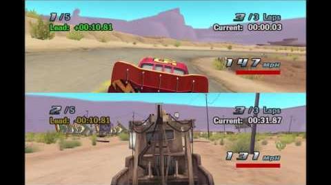Cars 1 and Cars 2 Glitch