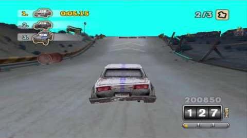 Cars Hi-Octane Edition - Beta Rustbucket Race 2... sort of