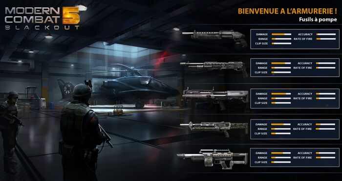 MC5 weapon stats - shotguns
