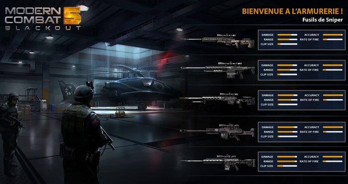 MC5 weapon stats - sniper rifles