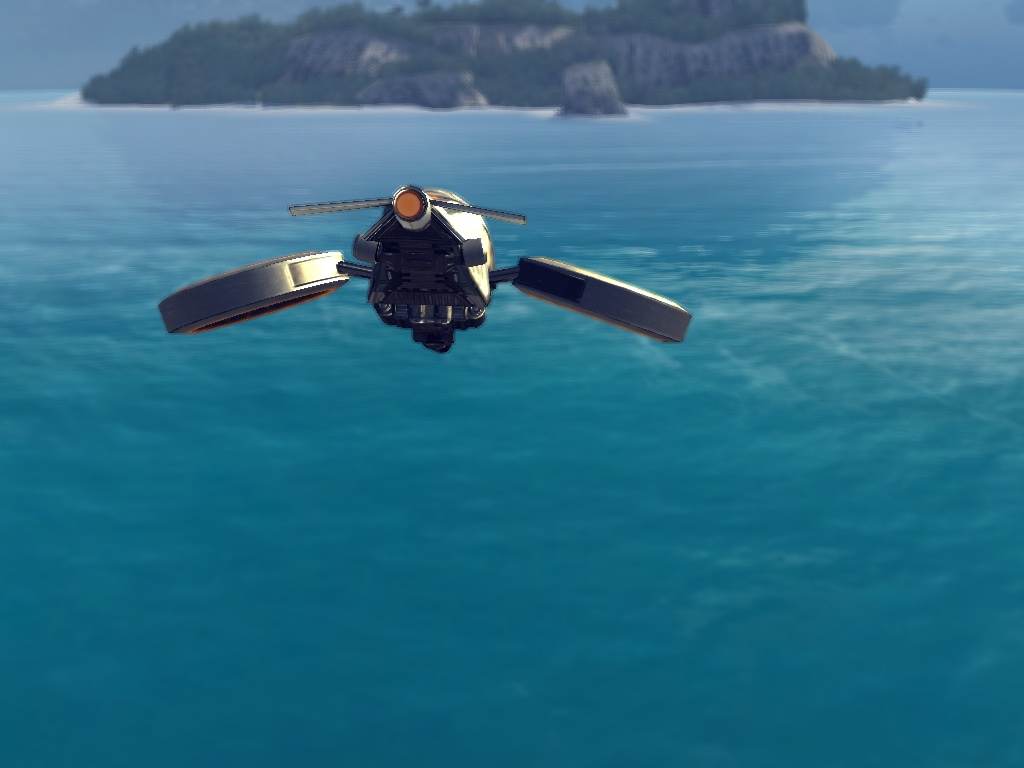 Hover Drone-Opening Cutscene