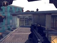 Two Hostiles on Roof