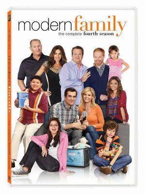 Modern Family S4 DVD