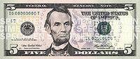 250px-New five dollar bill