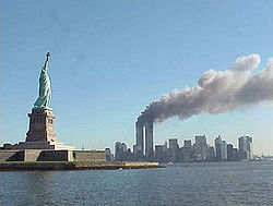File:250px-National Park Service 9-11 Statue of Liberty and WTC fire.jpg