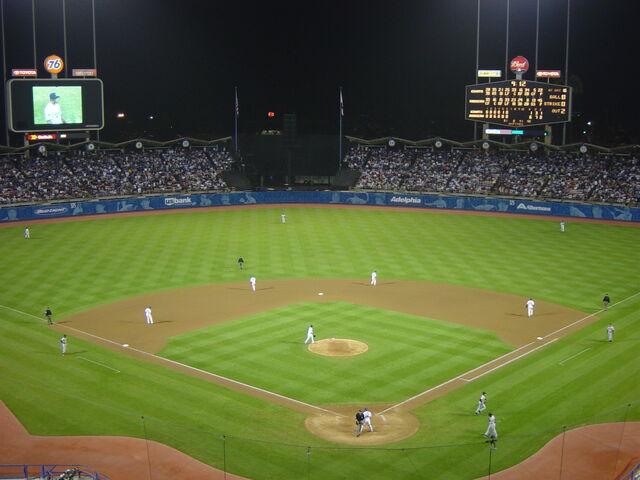 File:Dodger Stadium at Night.jpg