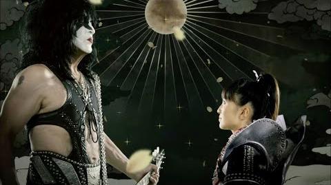 Yume no Ukiyo ni Saitemina Momoiro Clover Z vs KISS Music Video