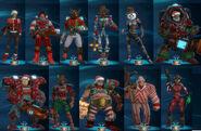 Christmas Uniforms