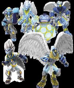 Mondo TV - Gormiti - The Air Tribe - Character Profile