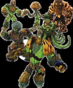 Mondo TV - Gormiti - The Forest Tribe - Character Profile