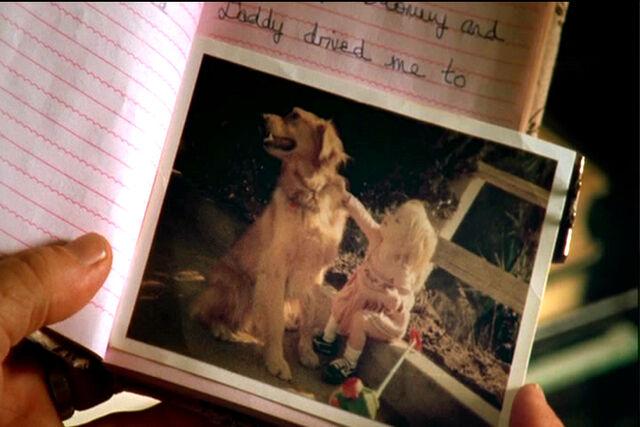 File:Trudy Ellison and her dog Ginger.jpg