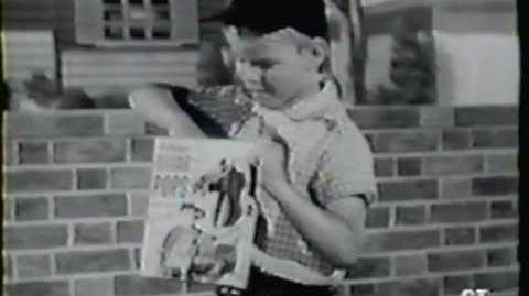 Micky Dolenz Kelloggs Sugar Pops commercial (1957)